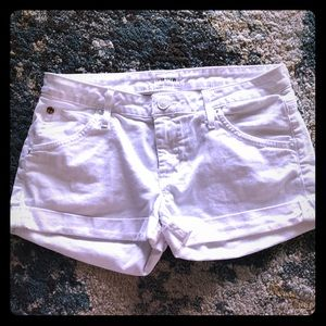 Hudson white shorts